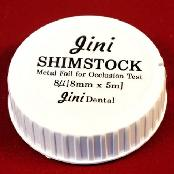 JSH Dental Shimstock-Occlusal Strip Dental care product plastic case packaging made in Korea