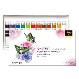 ALPHA DYE COLORS many artist use in painting, art made in Korea