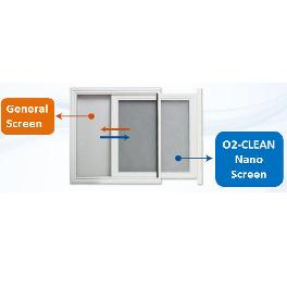 Sliding window type system (O2-clean)