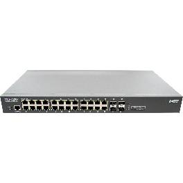 NST PoE NSH-2128P allows Powered Devices (PDs) to receive both power and date from PoE switch