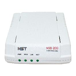 NSB-200 extend LAN to a remote place with only using a pair of phone line