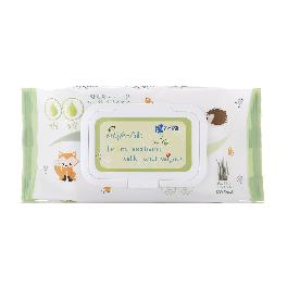 Aloe Vera Extract & Green Tea Extract, AGA-EA From Nature Silk Wet Wipes ( 80 sheets/ 100 sheets )