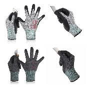 3D Level-5 Cut-Resistant Gloves Cru553
