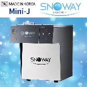 2018 NEW!! SNOWAY Mini-J Snow Ice flake bingsu Machine(Sulbing Machine)