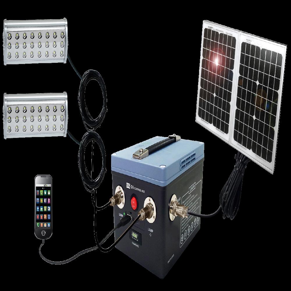 SOLAR LIGHTING SYSTEM SG-24 | Solar Energy Products | GOBIZKOREA COM