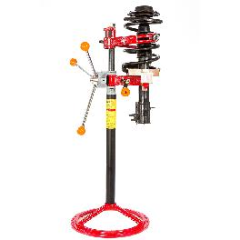 Strut Spring Compressor safe, fast, and easy rack and pinion