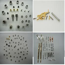 STAINLESS STEEL, BRASS, SUM22 high quality precision components PIN(Φ0.2-Φ0.0)