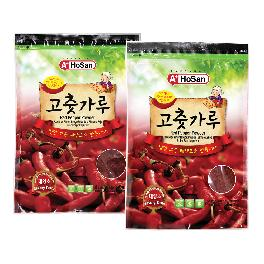 red pepper powder Korean traditional powder for spicy food ingredients