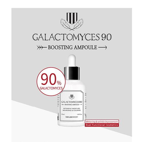1004LABORATORY Galactomyces 90 Boosting Ampoule (50ml) | Skin care, korea skin care, Ampoule, Anti wrinkle ampoule, cosmetic, Brightening, Whitening, Boosting ampoule