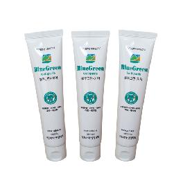 To prevent cavities, Prevention of periodontitis BlueGreen toothpaste
