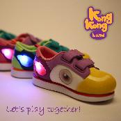 Animation content based Perry Character Shoes with LED light