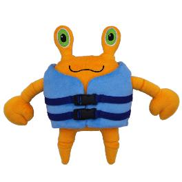 Animation Content based Crabo Character Doll