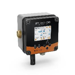 ST-IAQ-06 with a full color high resolution LCD display  to maximize visibility,real time monitoring