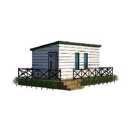 Cabin 900 Modular, Small House, Emergency Housing, Office made in Korea