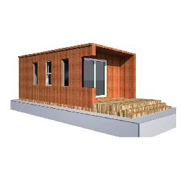 Cabin 1200 Modular, Small House, Emergency Housing, Office made in Korea