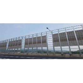 Noise Barrier, Soundproof Barrier with absorbing or blocking noise through noise barrier