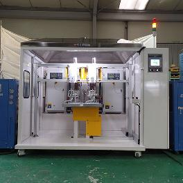 Korea SK Brazing Stainless Steel Compact & Rigid Auto Induction Brazing Machine (200IB)