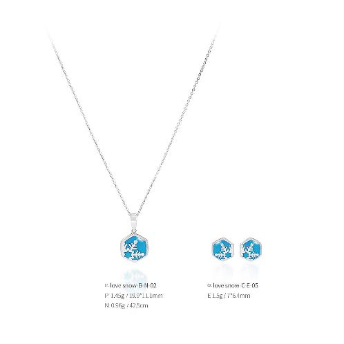 love snow jewelry love snow-B-02 (Earrings, Necklaces), made in Korea | Jewelry, Earrings, Necklaces, Silver, jewellery