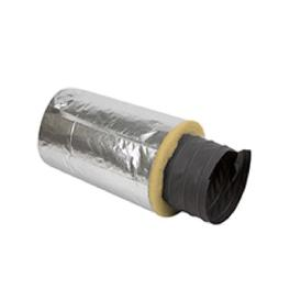 Fiber Glass Fabric Flexible Duct Hose D-3000G (Fiber Glass 1P Glass Wool warming) made in Korea