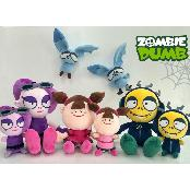ZOMBIEDUMB Plush Toy  Using 3D Animation TV Series and Unique main characters