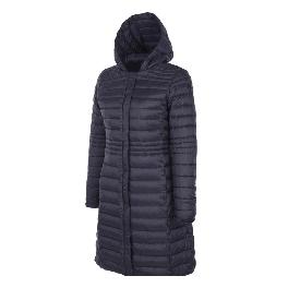 MRD Eco-friendly  hyper DWR & Breathable  Women's lightweight slimfit goose down Jacket with detacha