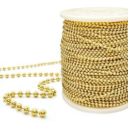 Brass Ball Chain is primarily manufactured from three base metals: brass, steel and stainless steel
