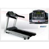 Enjoyment of TV, VCR and DVD Commercial Treadmill M995T with nano-silver antimicrobial handlebar