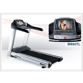 Ergonomic design Commercial Treadmill M990TL with multiple impact mitigation systems (MSAS)