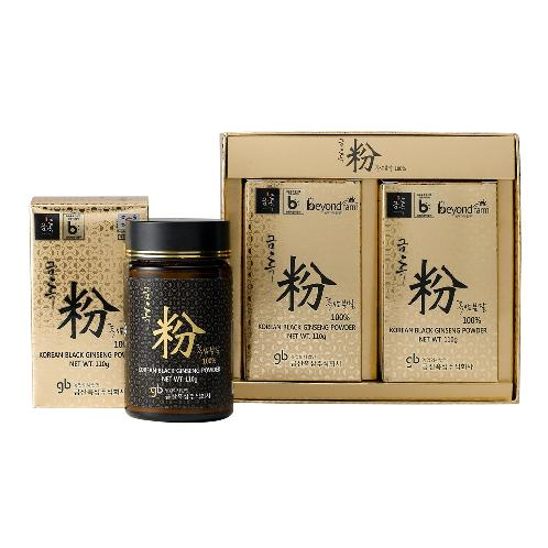 Geumheuk premium healthy black ginseng powder (Black Ginseng root 70%, Black Ginseng tail 30%) | powder, black ginseng, Korean ginseng, health functional food, Geumheuk, Ginseng Powder