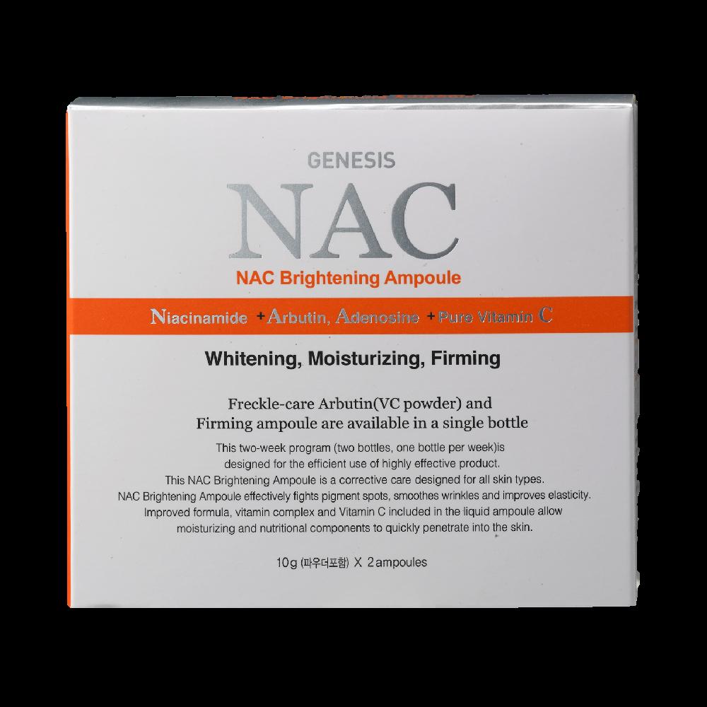 Two-week program for Brightening GENESIS NAC Brightening