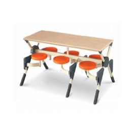 Portable Stool Table