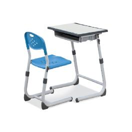 Desk and Chair - Student, Classroom (One touch-type, Wrench-type, Clamp-type)