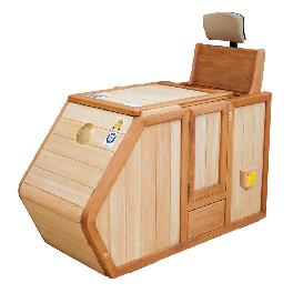 WH-300 private half-bath sauna easy and convenient operation and maintenance with well-being life