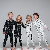 Infant Boys and Gilrs 30s Cotton 100% 2 piece Pajamas set  is a clothing with kids every day