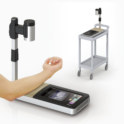 A vein finder to show images of the blood vessels in real-time VPism-D (Desk type) made in Korea | Vein Probe, Vein Finder, Vein illuminator, vein viewer, vein search, vein detector, vein locator, vein navigator