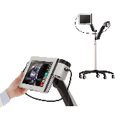 A vein finder to show images of the blood vessels in real-time, VPism-C (Compact Type) made in Korea