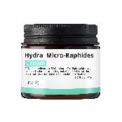 Hydra micro raphides cream this light-weight cream contains hyaluronic acid, aloe, and witch hazel