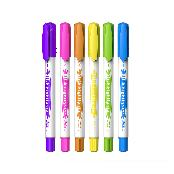 The PEN stick slim highlighter (art & painting, marker pen, water-based ink ,HIGHLIGHT MARKER)