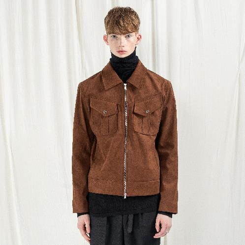 K-FASHION SUEDE JACKET | APPAREL CLOTHING,K-DESIGNER,K-FASHION,MEN CLOTHES
