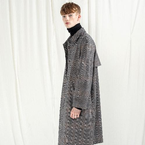K-FASHION CHECK SINGLE COAT | APPAREL CLOTHING,K-DESIGNER,K-FASHION,MEN CLOTHES