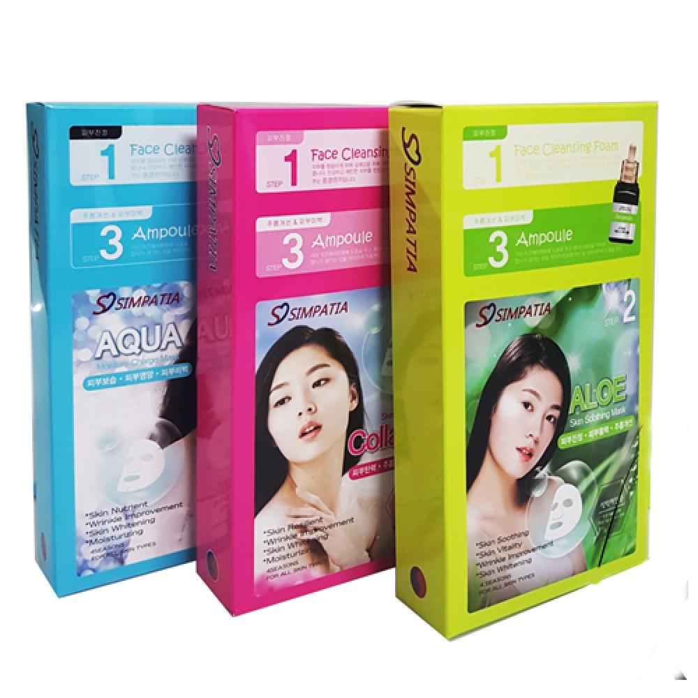 3 STEP COLLAGEN MASK PACK t gives the skin elasticity and vitality in the wrinkles and whitening