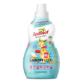 RedRoot detergent naturally fermented laundry detergent with low irritation for delicate baby skin