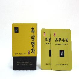 Geumheuk premium high-quality puffed black ginseng tea enhances to improve the level of immunity