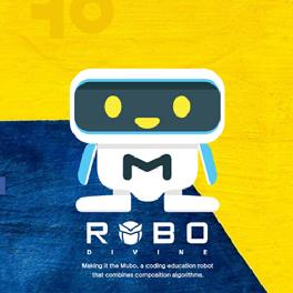 Funny, easy to learn and play Robot MUBO AND MAUM for educational use made in Korea