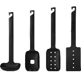 BORN&MADE nylon kitchen utensil set with excellent high quality natural simple and modern design