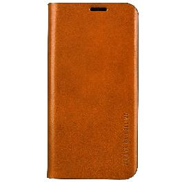 Luxurious Italy's finest leather Phone Protection Line Fit Vegetable Leather Flip Cellphone Case
