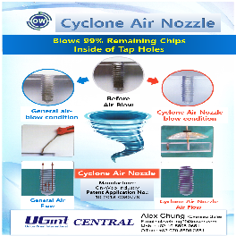 Cyclone Air Blow Nozzle