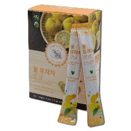 LIDAM honey citron tea powder Increases blood circulation and digestive stimulation with vitamin C