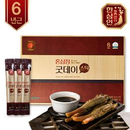 6 Years Korean Red Ginseng Extract Hansamin Good Day Stick (10ml x 20ea)