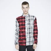 K-FASHION Mixed Patch Multi Shirt